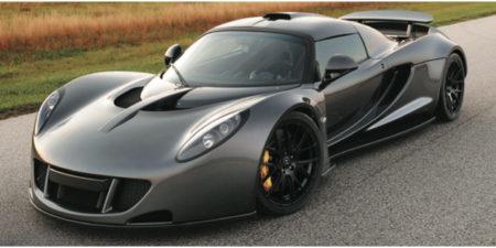 Самая быстрая машина в мире 2016 года - Henessey Venom GT