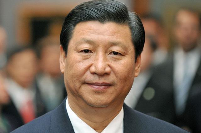 Chinesischer Vize-Staatsprдsident Xi Jinping in Dresden