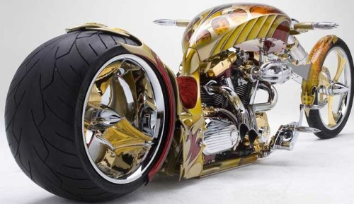Yamaha Road Star BMS (Золотой чоппер)