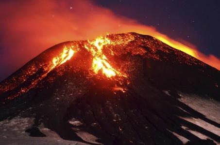 Вулкан в представлении древних людей