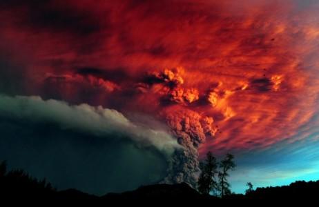 Влияние вулканов на закаты