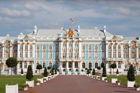 Екатерининский дворец. Санкт-Петербург, Россия