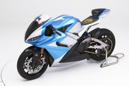 Самый быстрый мотоцикл в мире с электрическим двигателем
