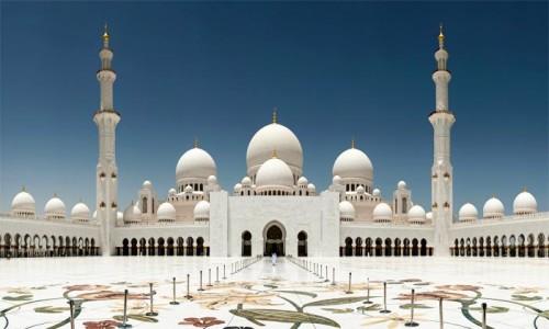 Мечеть Шейха Зайда. Абу-Даби, ОАЭ