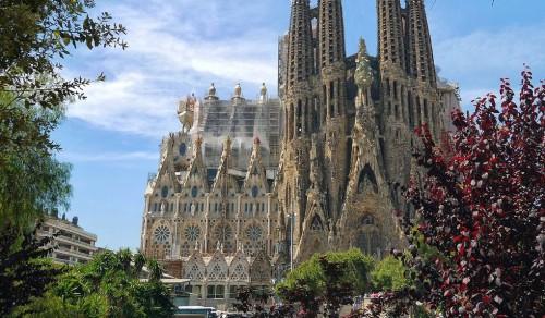 Саграда Фамилия. Барселона, Испания