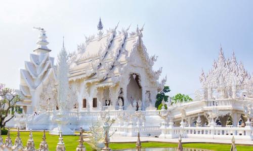 Ват Ронг Кхун. Таиланд