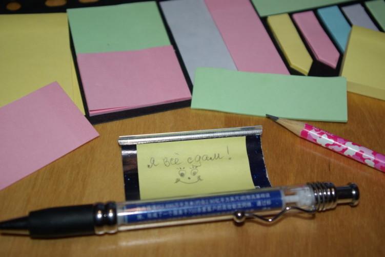 Как списать на уроке незаметно?
