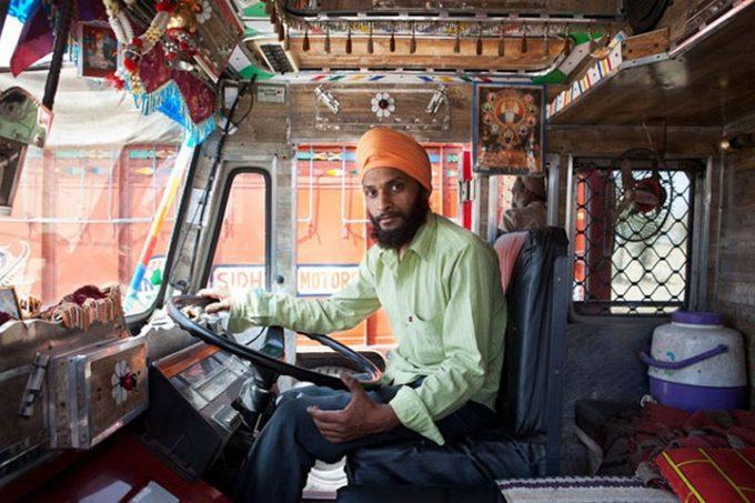 Индийские дальнобойщики