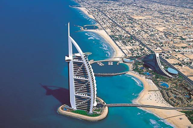 Достопримечательности Дубая башня