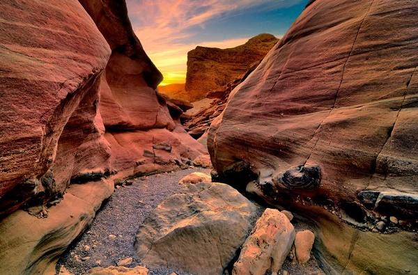 Эйлат достопримечательности. Красный каньон