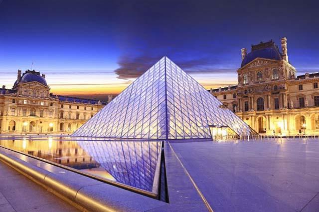 Лувр, самый большой музей в мире