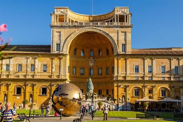 Музей Ватикана, самые большие музеи в мире