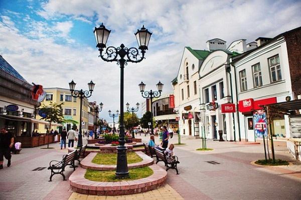 Советская улица. Достопримечательности Бреста