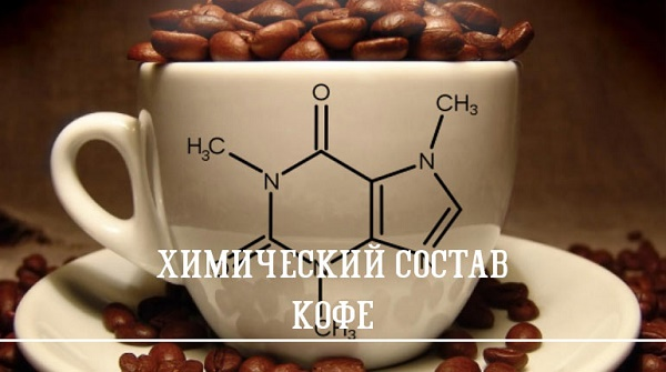 Удивительный состав кофе