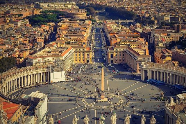 Ватикан самое маленькое государство