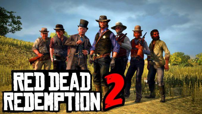 Red Dead Redemption 2, самые ожидаемые экшенэ