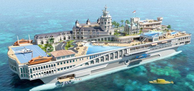 Яхта_Streets_of_Monaco