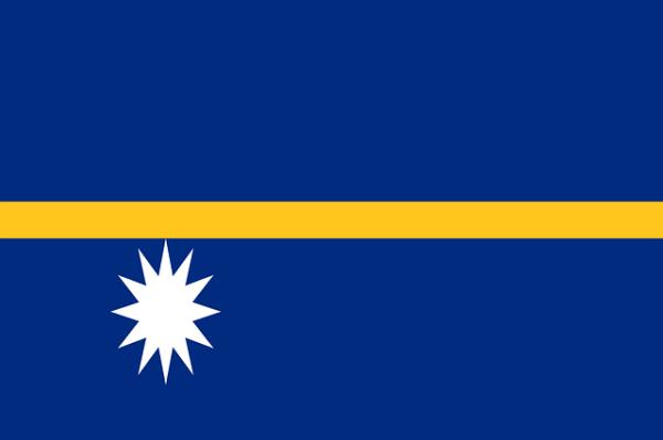 Науру флаг