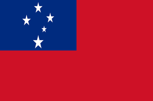 Самоа флаг
