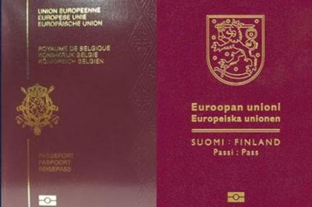 Самые сильные паспорта