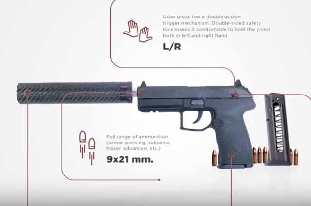 Особенности пистолета