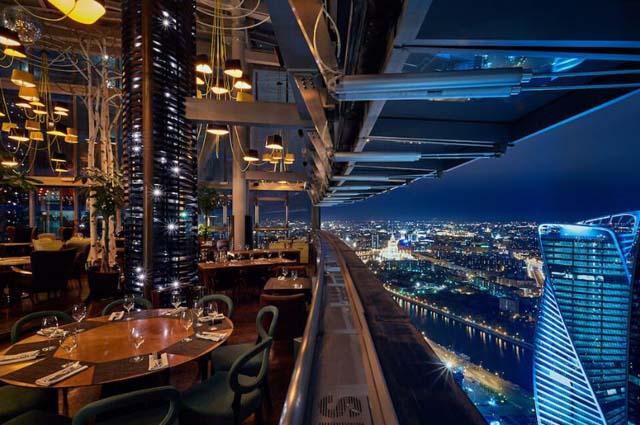 Ресторан Sixty панорама