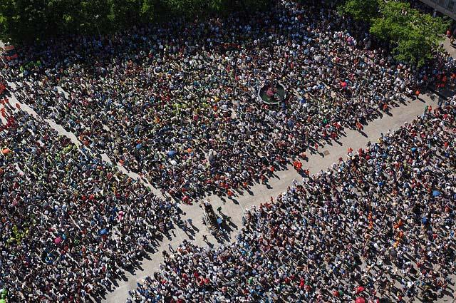 Митинг, собрание людей