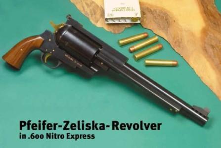 Самый мощный пистолет в мире - Pfeifer-Zeliska .600 Nitro Express