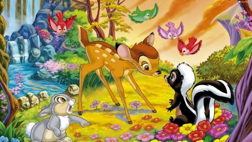 Самые лучшие мультфильмы Диснея - Бэмби