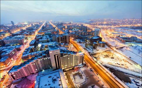 Самые лучшие города России для проживания на 2016 год - Красноярск