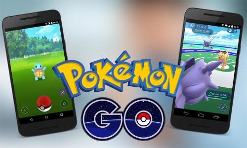 Самое лучшее приложение для Android 2016 года - Pokemon Go