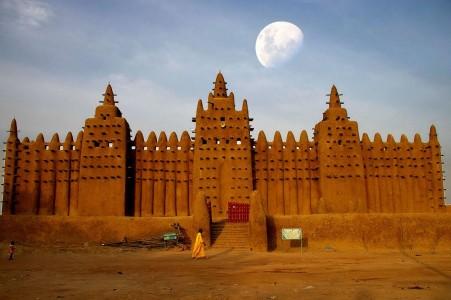 Великая мечеть. Дженне, Мали