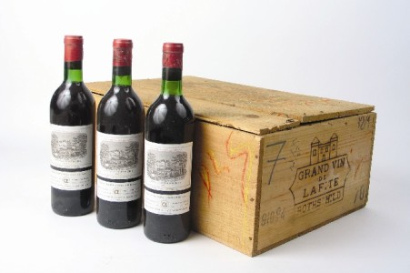 Chateau Lafite-Rothschild 1869 года