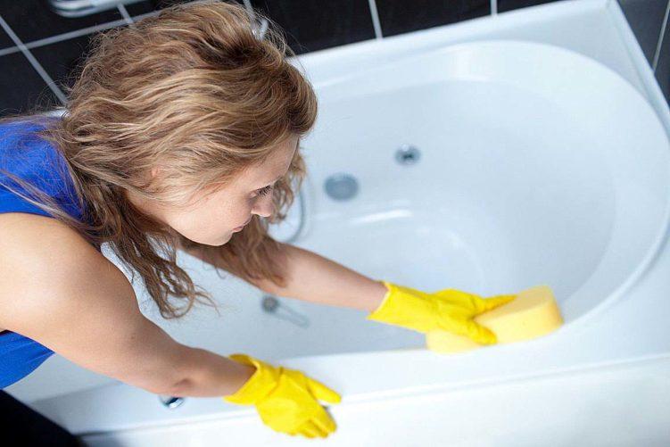 Лайфхаки для уборки ванной комнаты