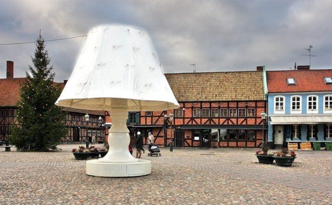 Говорящая лампа Мальмё