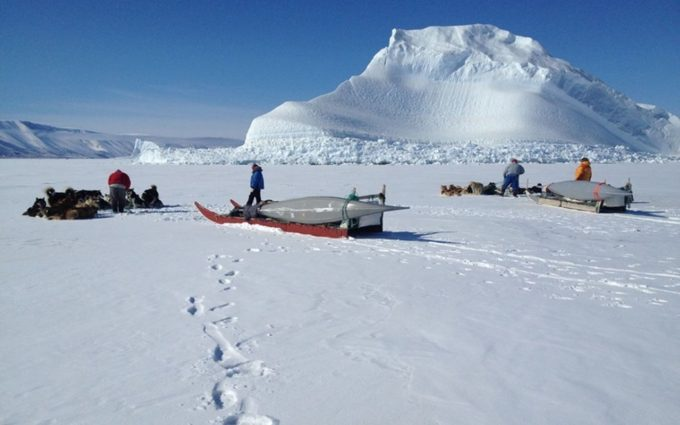 Айсмитте, Гренландия