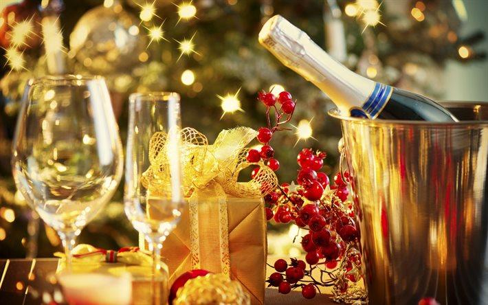 Традиции пить шампанское на новый год в россии