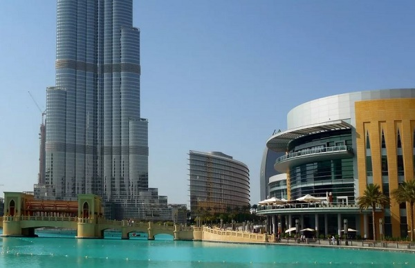 Дубай торговый центр. Достопримечательности Дубая